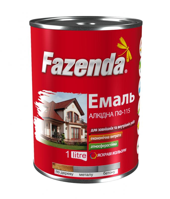 Эмаль алкидная Fazenda