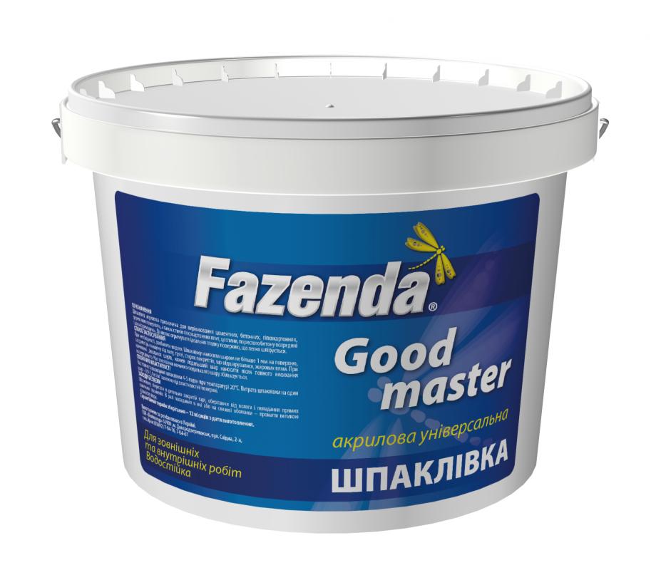 Шпатлевка Good Master Fazenda