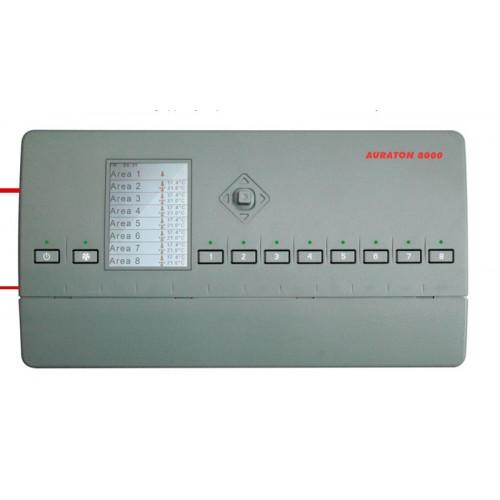8-ми канальный беспроводный контроллер для теплых полов AURATON-8000 LMS
