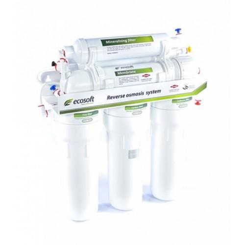 Фильтр обратного осмоса Ecosoft 6-75 M с минерализатором