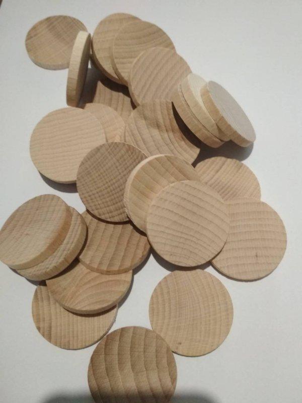 Пластинки круглые 38 мм ( упак 50 шт )