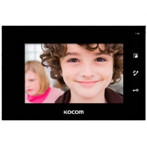Видеодомофон Kocom KCV-A374SD black