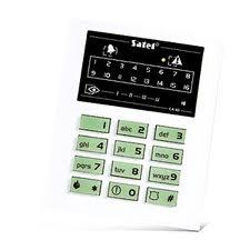 Клавиатура светодиодная Satel CA-10 KLED-S