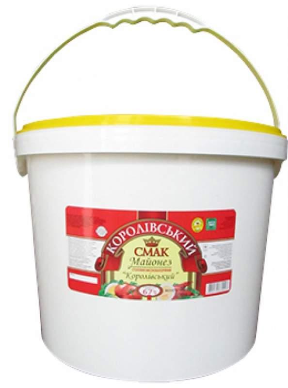 Купить Майонез королівський (королевский) 67%, 10 кг Ведро пластиковое