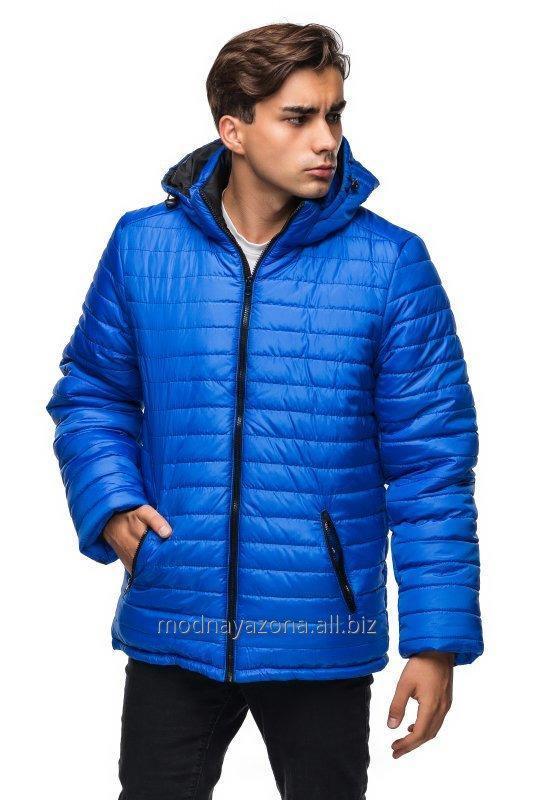 Длинная мужская зимняя куртка с капюшоном . 6e2bdd461fbcd