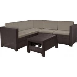 Комплект мебели для сада Provence Set коричн.