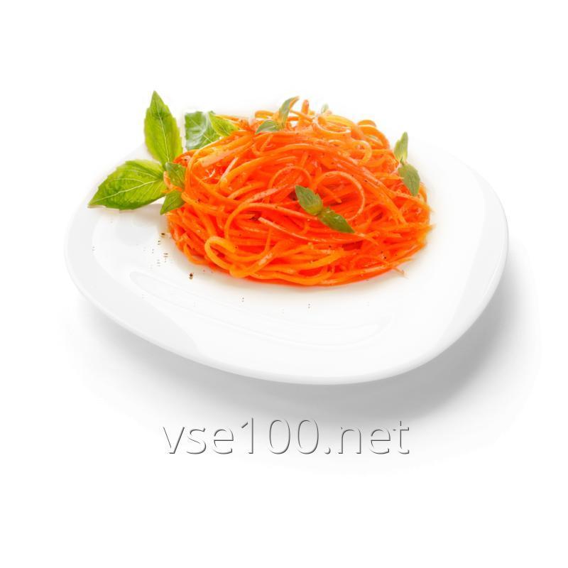 Carrots in Korean salad