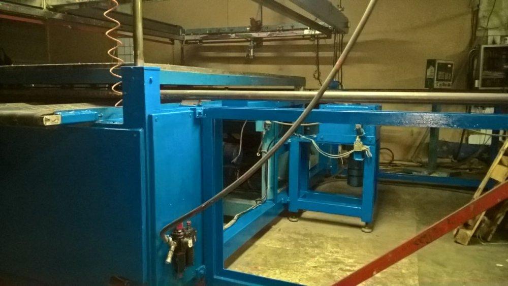 Шелкотрафареный автоматический станок, формат печати  305Х155 см Argon