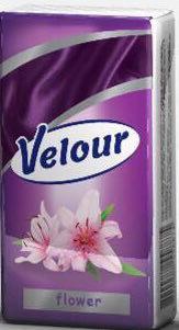 Носовые платки Velour цветок Эко
