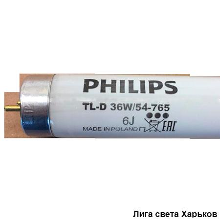 Лампа люминесцентная Philips TL-D 36W/54