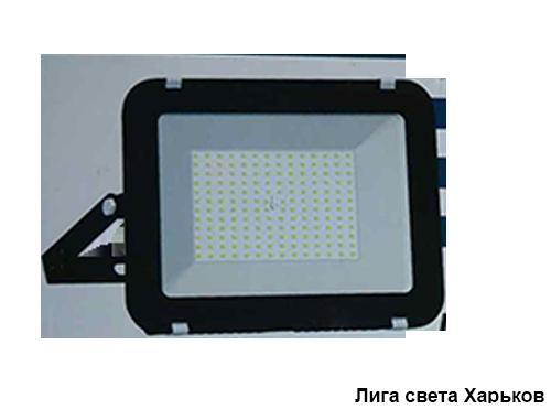 Прожектор LED 100w 6500K IP65 6800LM Lemanso чёрный/9-104