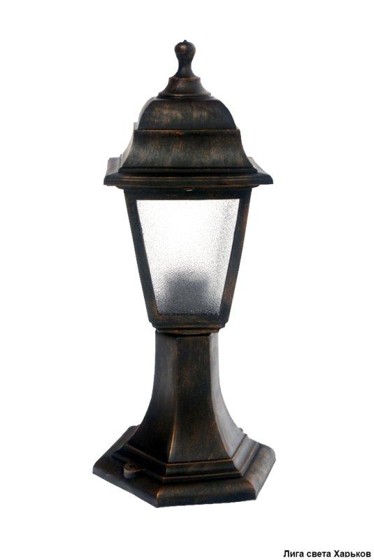 Светильник Кантри НГ 04 матовое стекло/медь