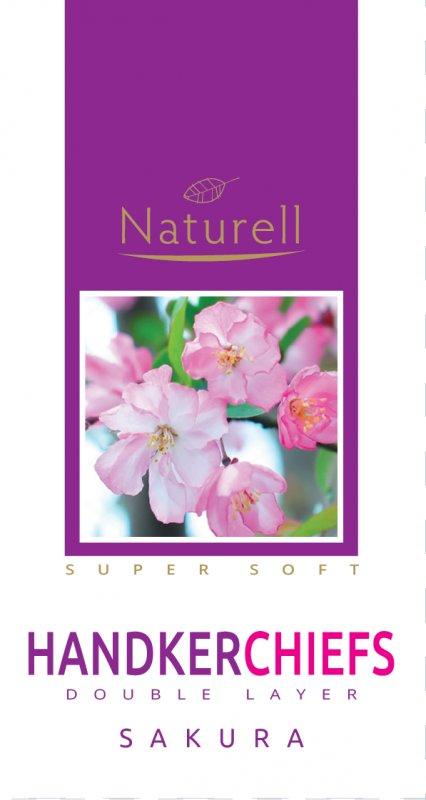 Носовые платки Naturell аромат сакура