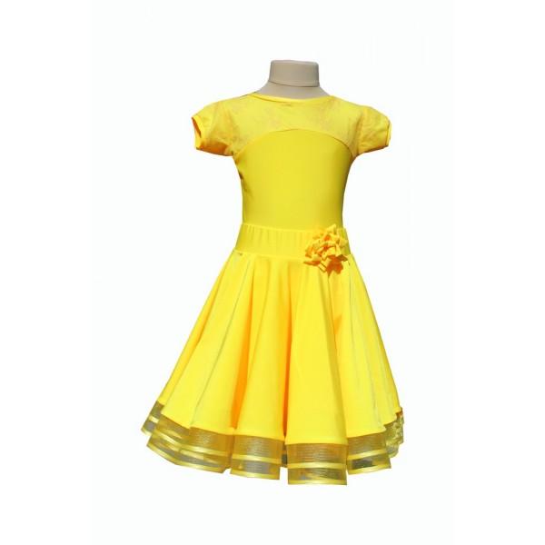 Рейтинговое платье для танцев (бейсик) Модель 533