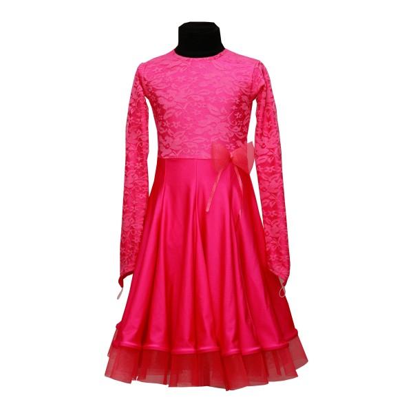 Рейтинговое платье для танцев (бейсик) Модель 502