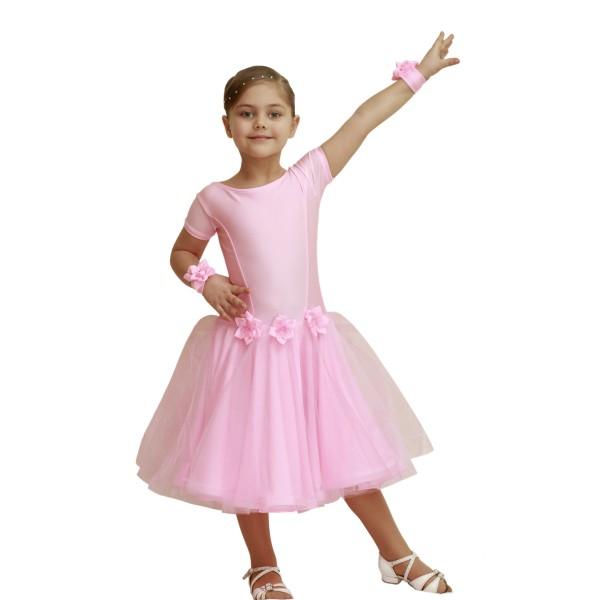 Рейтинговое платье для танцев (бейсик) модель 525