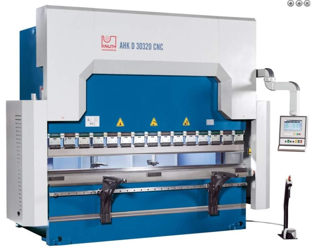 Купить Гидравлический листогиб с ЧПУ - AHK D CNC 60400 4X