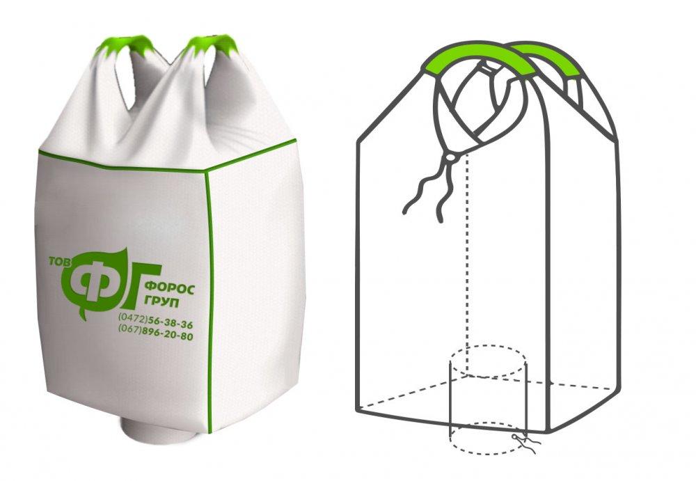 Полипропиленовые мешки мкр 2 петлевые