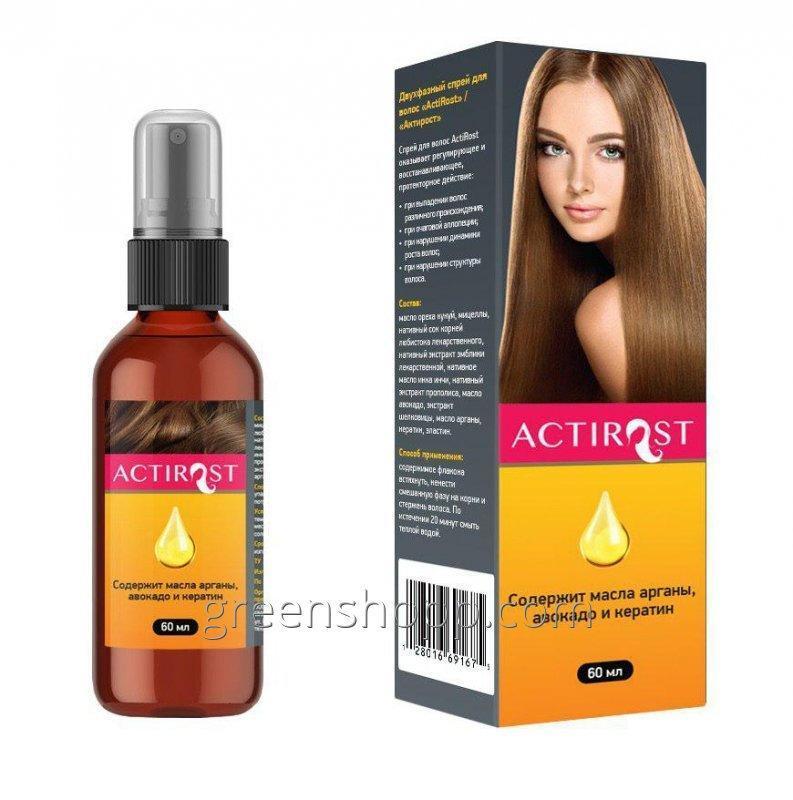 Acquistare ActiRost (AktiRost) - uno spray in due fasi per capelli