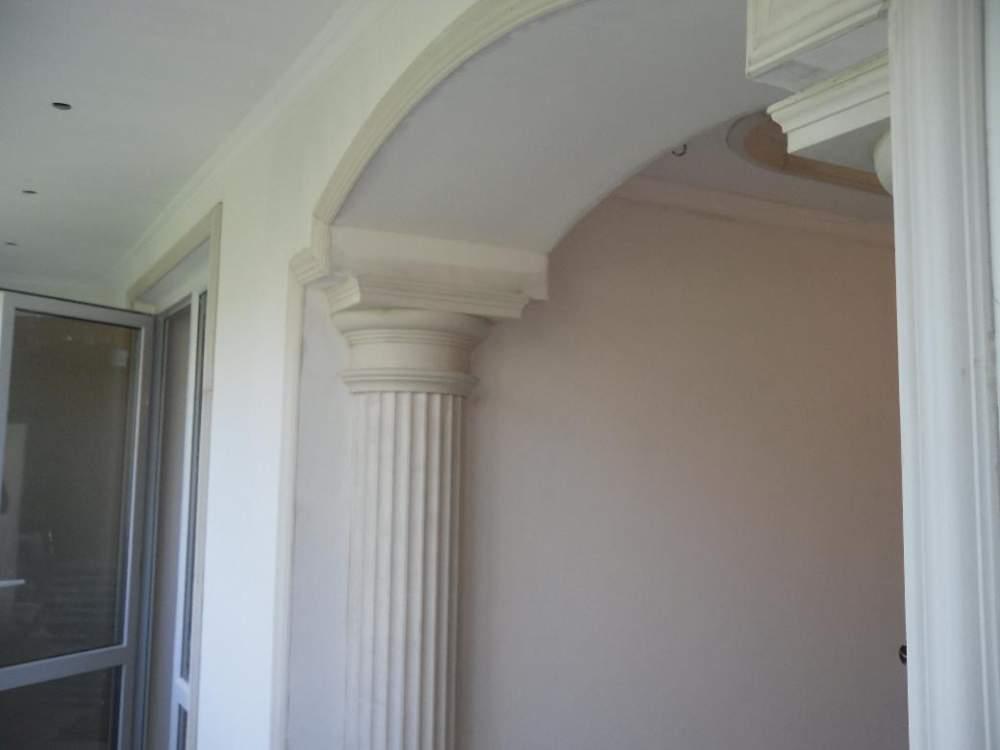 Декоративные колонны из гипсокартона