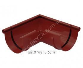 Угол наружный пластиковый красный 90° Ø100мм Bryza 1/10