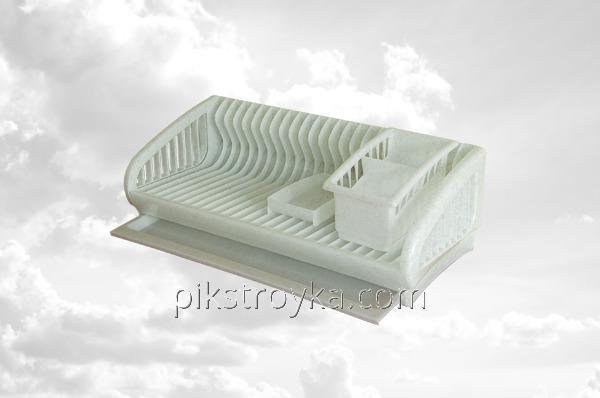 Сушка для посуды пластиковая на 24 тарелки SL Консенсус 1/5