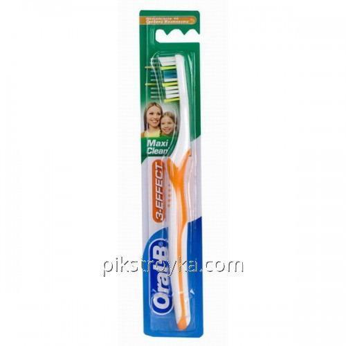 Зубная щётка Oral-В 3-effect Макси Клин Vision 40 средняя 1/12
