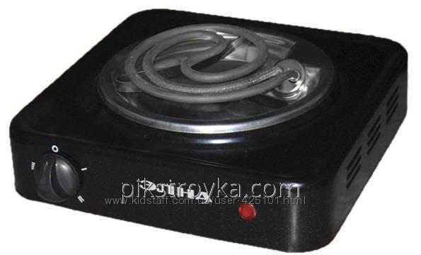 Купить Электроплитка Элна-100 1-конф./ узкий тэн-1кВт/220/ цинковый поддон Elna 1/1