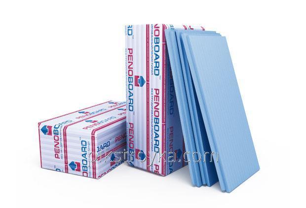 Купить Плита пенополистирольная 50*600*1250мм 32 плотность Penoboard 0,75м.кв./6.0м.кв. 1/8