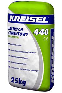 Купить Смесь для пола стяжка толщина от 20 до 80мм Estrich-Beton 440 25,0кг Kreisel 1/42