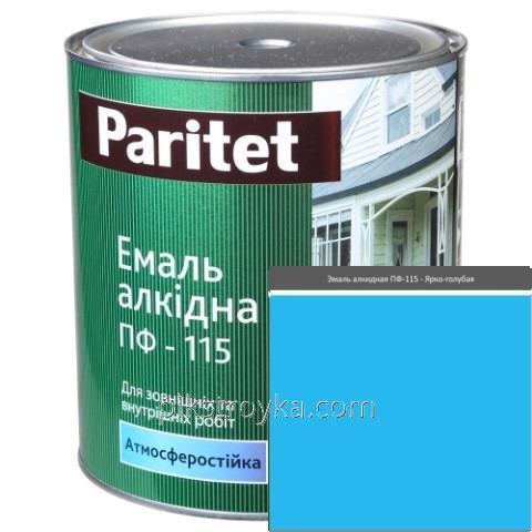 Купить Эмаль алкидная светло-голубая ПФ-115 2,8кг Paritet 1/6