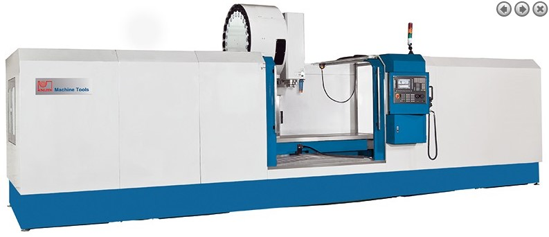 Buy The vertical processing center with ChPU - BFM 2500 CNC