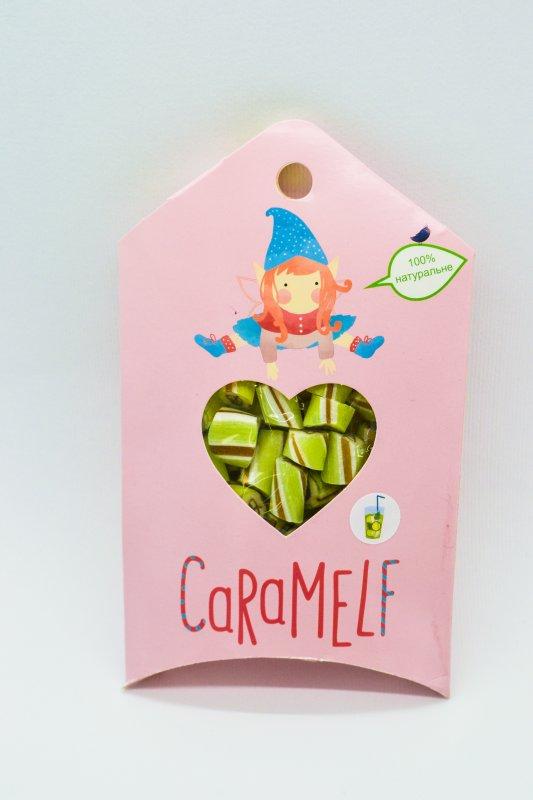"""Натуральная карамель """"Мохито"""" в картонной упаковке по 100 г"""