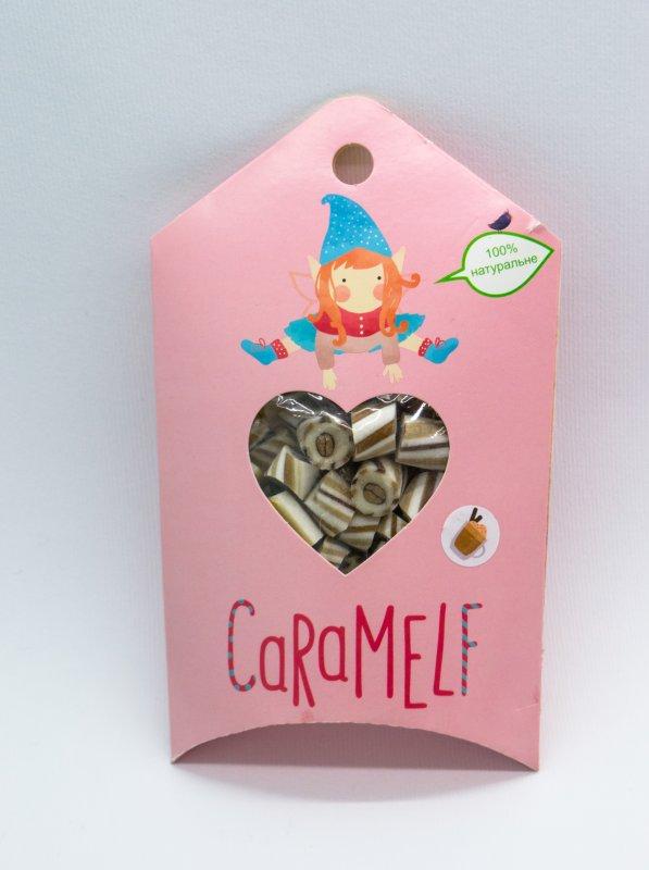 """Натуральная карамель """"Кофе"""" в картонной упаковке по 100 г"""