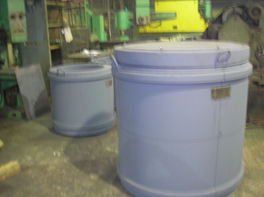 Buy Shipping containers for the transportation and storage of radioactive and highly toxic substances.