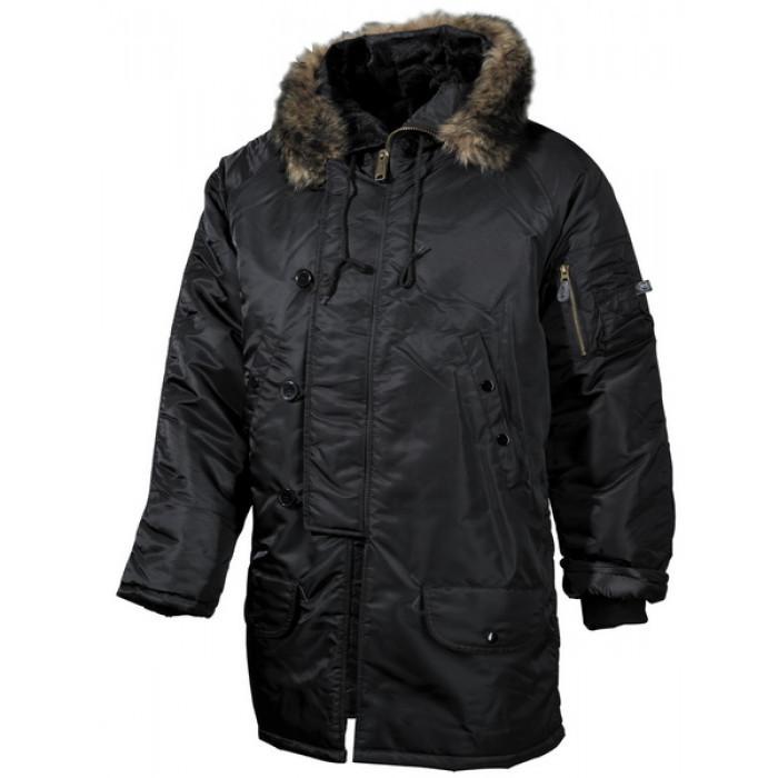 Купить Куртка Polar Jacket N3B черная брак XXL