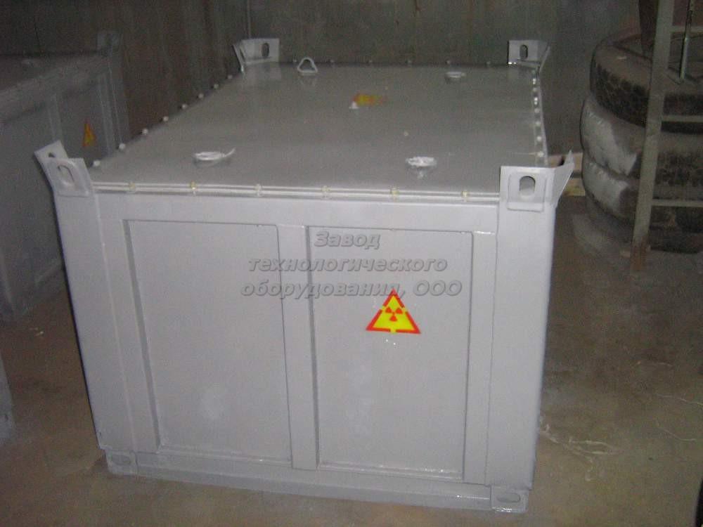 Купити КТ 2,0 контейнер для безпечного транспортування та зберігання твердих РВ I-ї групи.