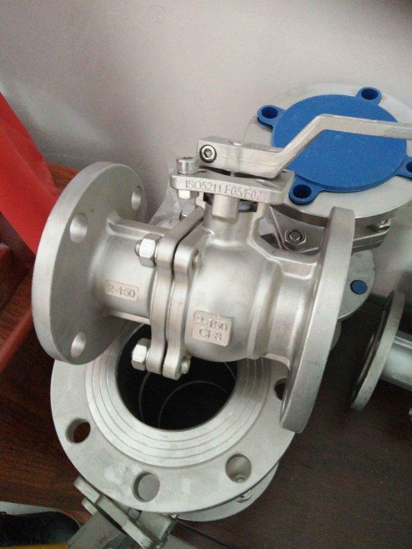 Кран шаровый сталь 316L, форма литья (парафин)РУ16, DN 200
