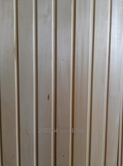 Вагонка липа  для бани , 1-1,9 м, 1сорт