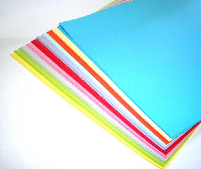Папір кольоровий, А4