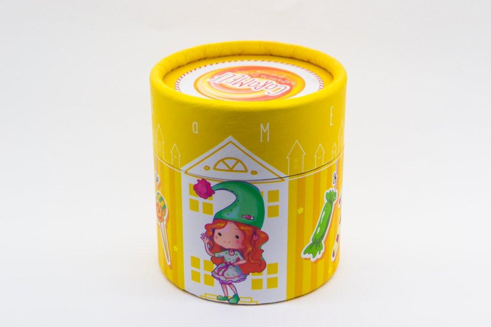 """Карамель натуральная """"Тропический микс"""" в подарочной упаковке"""
