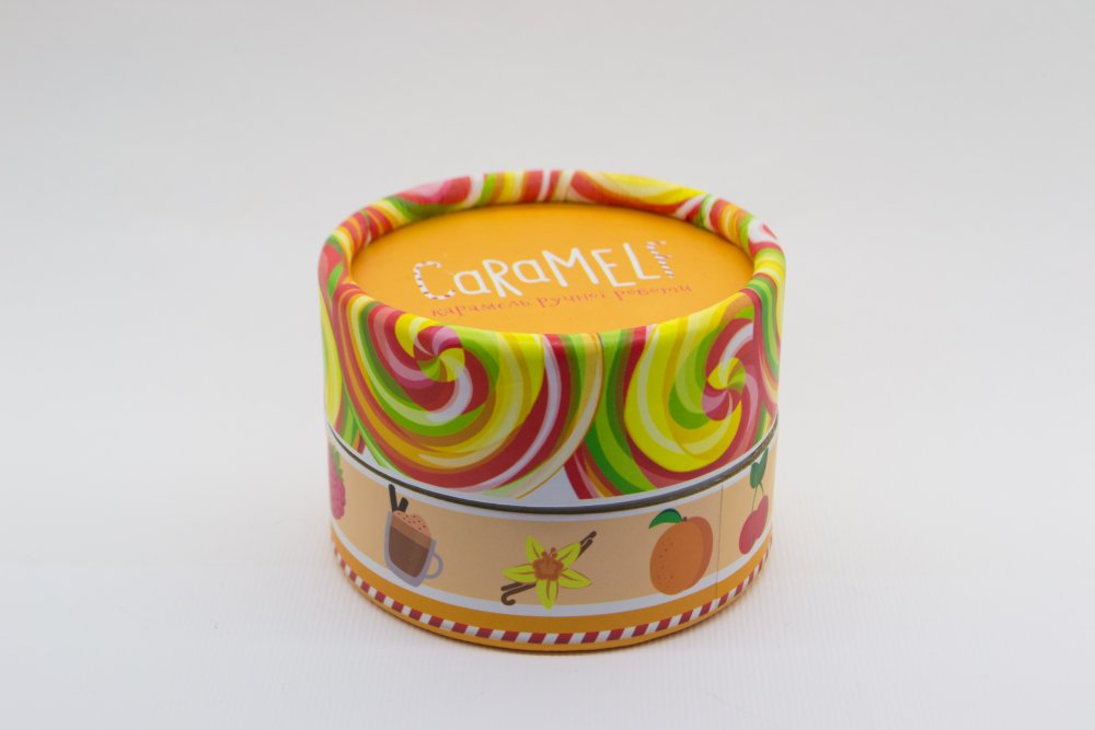 "Caramel natural ""A mix 10 in 1"" in a gift box"