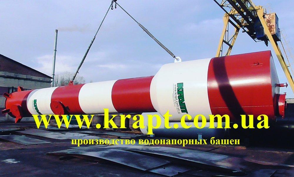 Купить Водонапорная башня ВБР-15 общая высота 12 м