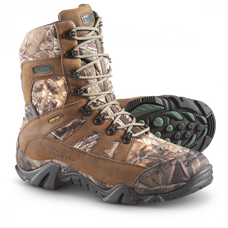 Ботинки для охоты утепленные Wolverine Extreme GORE-TEX Insulated Hunting Boots