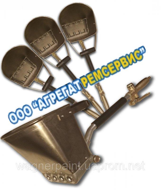 Штукатурная Лопата Хоппер-Ковш СТЕНОВАЯ