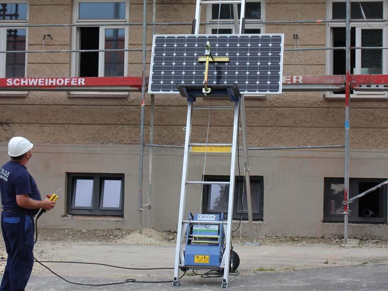 Строительные грузовые подъемники GEDA  Solarlift