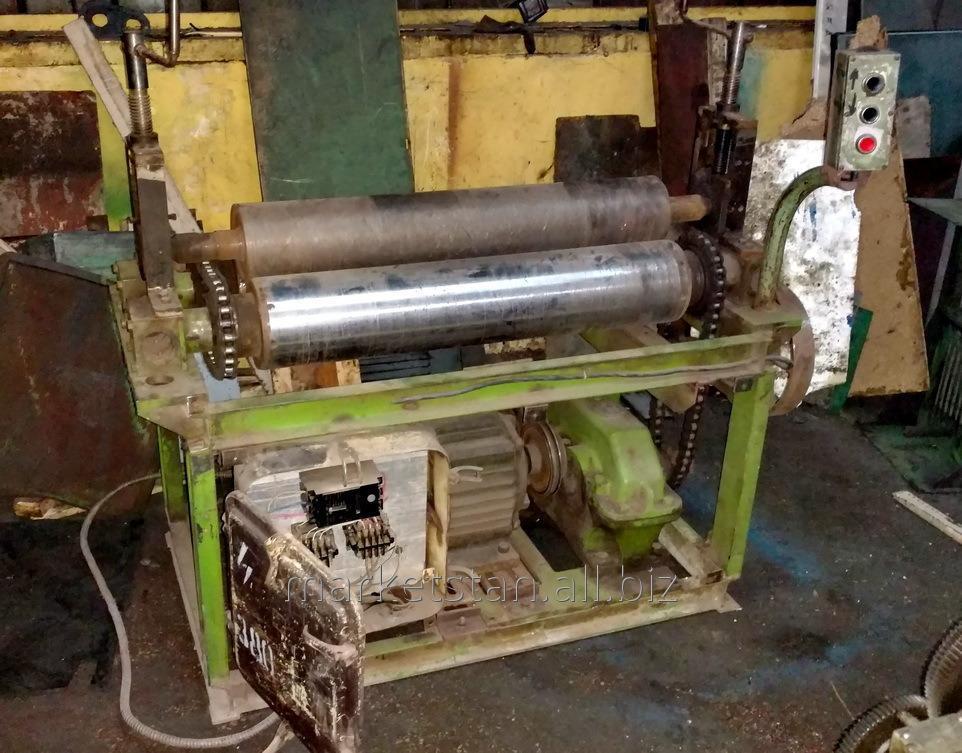 Вальцы 6 х 900 мм с электроприводом