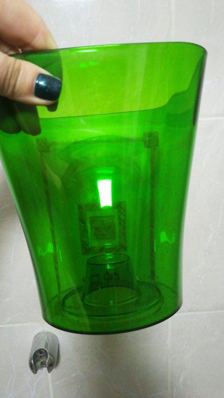 Кашпо для Орхидей Квадро, зелёный d170 mm