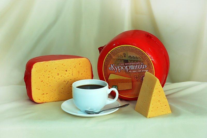 Купить Сыр полутвердый Курортный ТУ У 15.5 - 02758008.001-2001