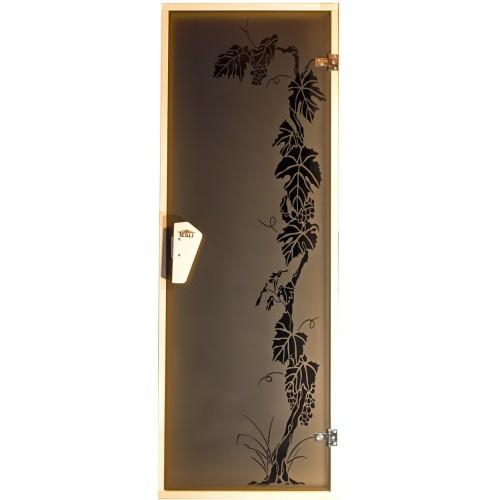 "Двери для сауны ""Виноград"" 1900*700"